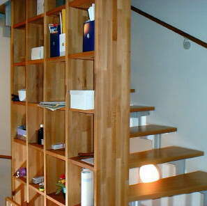 doppelhaus in berlin zehlendorf treppe. Black Bedroom Furniture Sets. Home Design Ideas